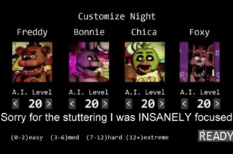 How to survive Five Nights at Freddy's