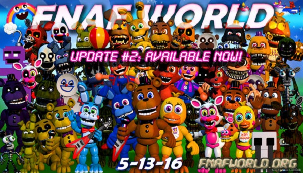 Fnaf World 2 (Update)