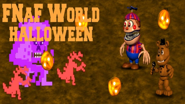 FNaF World Halloween 3D